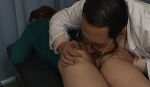 Alloy goes hither on her hot and soaked Asian pussy