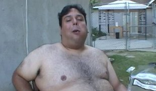 Offensive chunky gay blade fucks a bonny girl outdoors