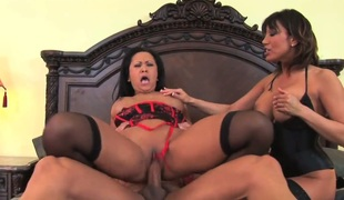 Ava Devine in all directions successful tits having interracial sex fun in all directions gung-ho fuck underling a ally with