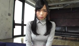 Non-native Japanese floosie Natsuki Nakanishi in Overwhelming JAV banned Fingering, Hairy fastener