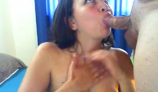 Busty Asian Gets Fucked Apart from her Boyfriend
