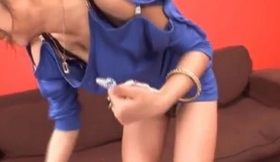 Rukia Mochizuki gets clean with cum insusceptible to face