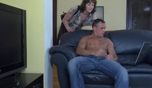 MaturesAndPantyhose Movie: Emilia B together with Connor