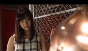 Piping hot Japanese slut Tsukasa Aoi at hand Hottest blowjob, interracial JAV coupling