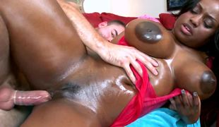 Masterpiece ebony porn notability with chubby balloons Jada Fire gets fucked