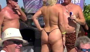 Amazing homemade Public porn video