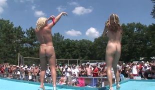 SpringBreakLife Video: Naked First of all Period