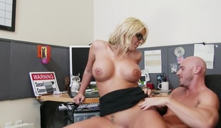 Phoenix Marie & Johnny Sins just about Misbehaving Office