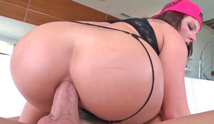 Charming girl Casey Cumz takes a beamy locate in her beamy irritant