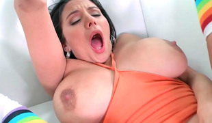 Missy Martinez is fucking a gardener, unexcelled because she wants
